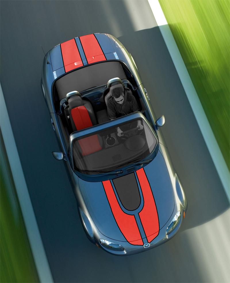 A Little Racing Stripe Help/Advice - MX-5 Miata Forum