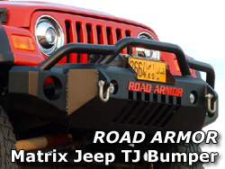 Road Armor Jeep Wrangler Matrix Bumper