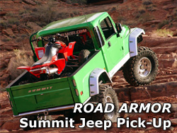 Road Armor Jeep Wrangler Summit conversion